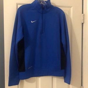 Nike zip up therma fit